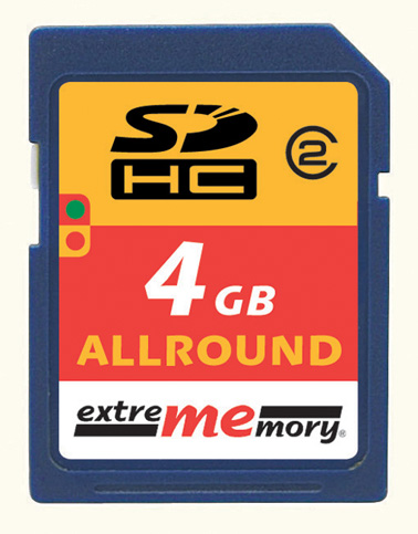 exme SDHC4GB2 front
