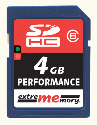 exme SDHC4GB6 front