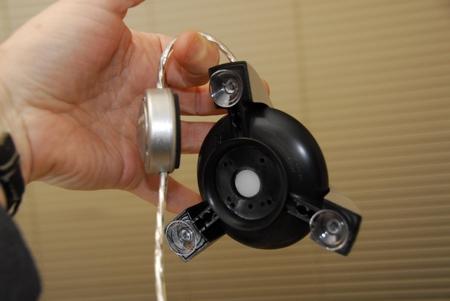 spyder 2 express Colorvision - Colorimeter und Gegengewicht