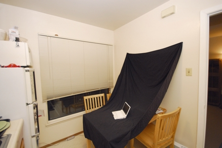 Homestudio Produktfotografie Selbstbau