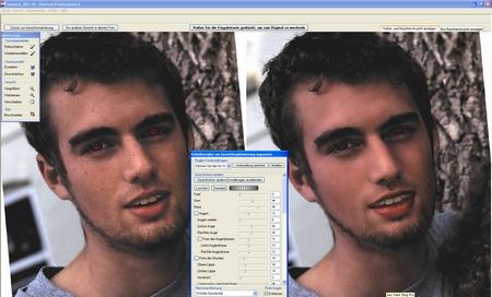 Portrait Professional Max 60 Entgleiste Gesichtszüge Einfangen