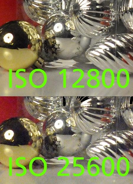 Nikon D3 Rauschen rauschfrei ISO 25600