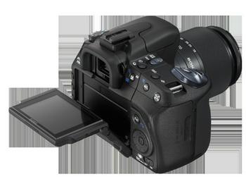 Sony a 350 Liveview Klappmonitor