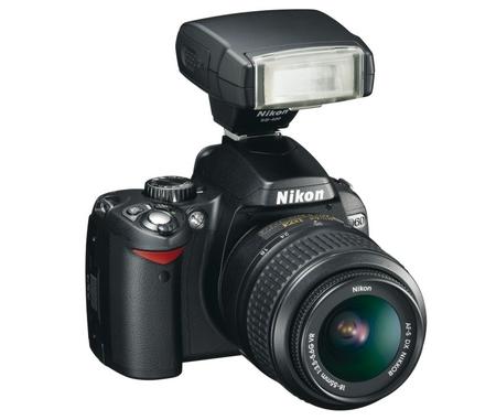 Nikon D60 mit SB400 Blitz und AF-S Nikkor 18-55mm