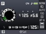 Nikon D60 LDC Ansicht Kompakte Spiegelreflex Monitor