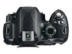 D60 Nikon Draufsicht oben Bedienung Gehäuse