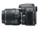 Nikon D60 Links mit 18-55 VR