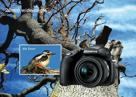 Olympus SP-570 UZ Zoomvergleich