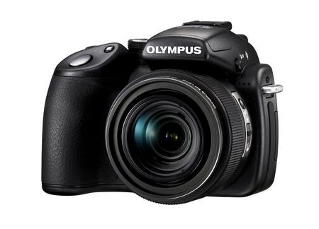 Olympus SP-570 UZ seitlich