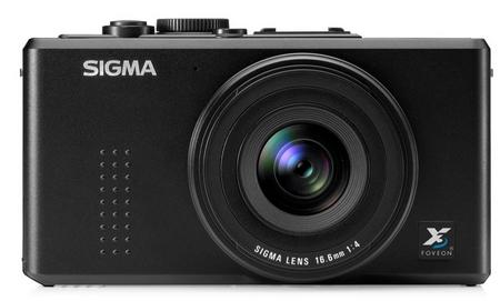 Sigma DP1 Kamera Frontansicht