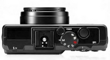 Sigma DP1 Kompaktkamera mit Foveon-Sensor von oben