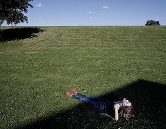 Noah Kalinas Blitzbild Frau