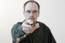 Selbstporträts mit Spass fernauslöser Kabel Spiegel Kamera