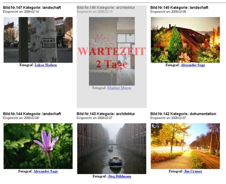 Leserfotos in der Profi-Kritik: So sehen die Kritiker Eure Bilder. Die Werke von bereits krisitisierten Fotografen müssen warten.