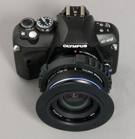Olympus E-410 unterwasservorbereitet W.D.Roth