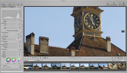 Screenshot aus Aperture 2 von Apple