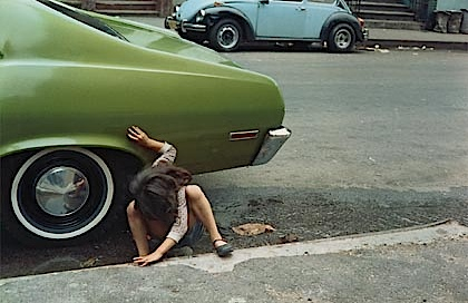Helen Levitt: Strassenszene in New York, ca 1970
