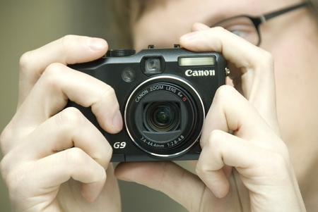 Canon Powershot G9 12 Megapixel und RAW: Liegt einfach irgendwie nicht richtig in der Hand