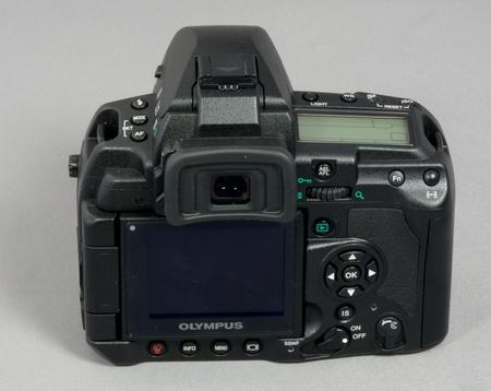 Olympus E-3 Monitor aktiv eingeklappt W.D.Roth