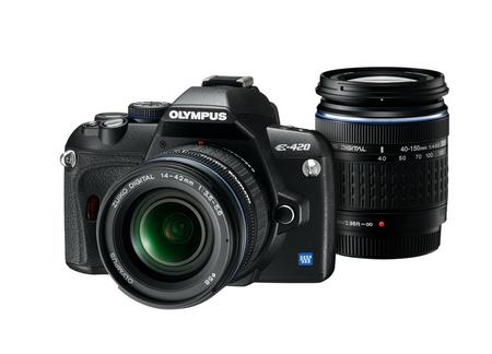 Olympus E-420 mit Doppelzoomkit