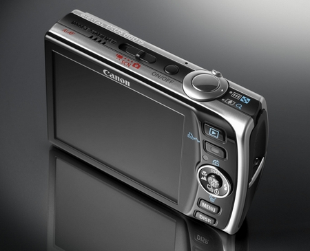 Canon Ixus 860 IS Rückseite