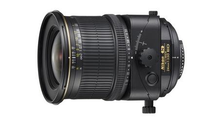 PC-E NIKKOR 24mm f3 Tilt/Shift Objektiv für Spiegelreflex-Kameras