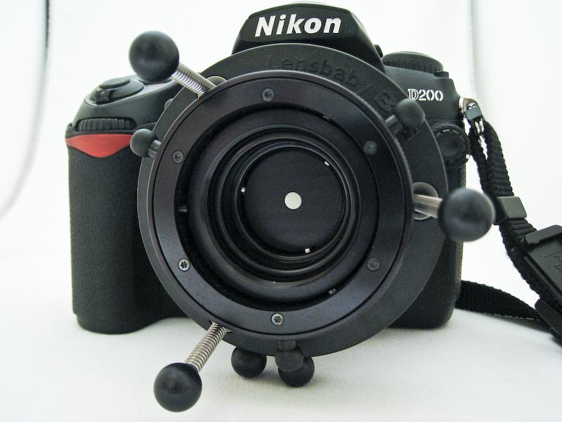 Lensbaby an Nikon D200: