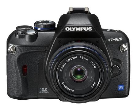 Olympus E-420 Pancake 25mm