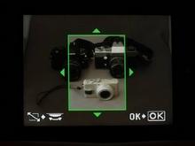 Olympus E-420: Bildausschnitt-Vorwahl