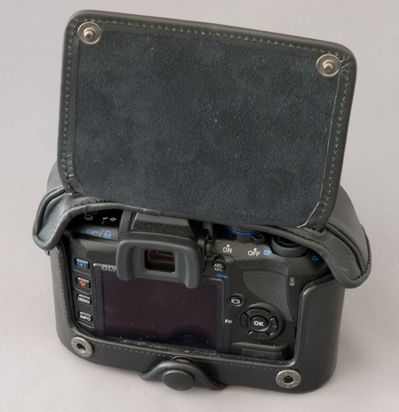 Retro-Tasche Olympus E-420 auf W.D.Roth