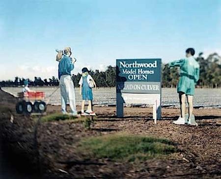 Marc Räder: Straßenkreuzung in Irving, Kaliforniern, 1996