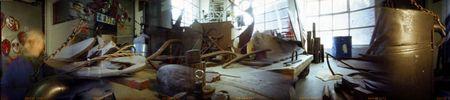 Luc Ewen, Tortuga 5: 2005, Atelier d'artiste Schläifmillen, Robert Mancini © photo: Luc Ewen