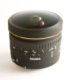 Das Sigma 8mm f4-Fisheye (© Neil Creek)