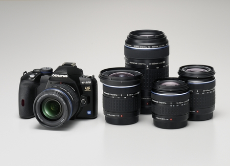 Olympus E-520 Zoomsets