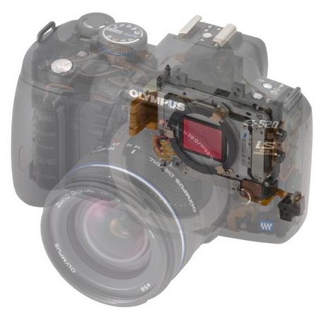 Olympus E-520 transparent