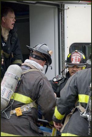 Ein Feuerwehrmann ist bei einem Einsatz in San Francisco verletzt worden © P. Sennhauser