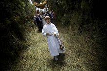 Corpus-Christi Prozession in Spanien (Foto Keystone / AP / Emilio Morenatti)