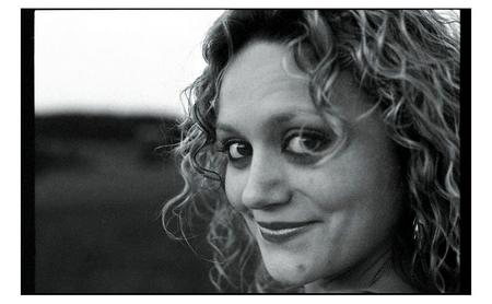 Karin Rindlisbacher - Porträt, aufgehellt