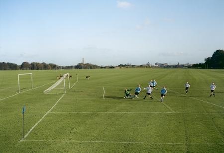 Albion FC - Echo Celtic, 3 - 2 «Spielfelder - Landschaft des Amateur-Fussballs in Europa», © Hans van der Meer