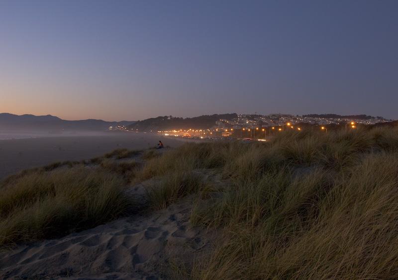 Nach Sonneuntergang. Die fotografische Dämmerung. (© P. Sennhauser)