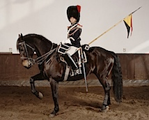 Charles Fréger: Grande escorte royale, Belgique, Série Empire, 2004/2006