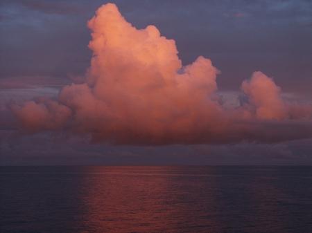 Sonnenuntergang im Pazifik