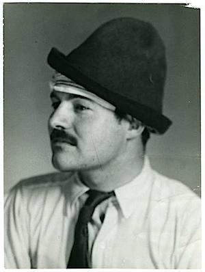 Man Ray: Ernest Hemingway, 1922