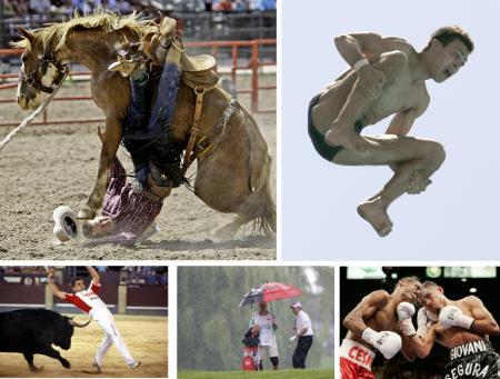 Sportler und ihr Leiden