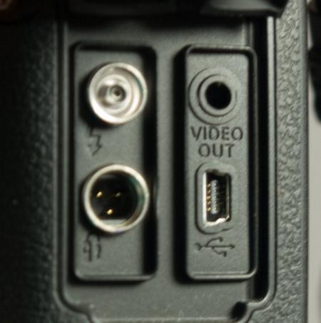 Canon 40D Anschlüsse