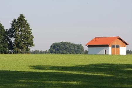 Landschaft Softfokus aus Blende 16