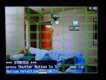 Raumüberwachung mit Motion-Detection-Skript und einer Canon Ixus oder Powershot-Kamera.
