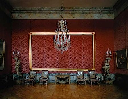 Robert Polidori: Empty Frame Salles de XVIIIeme, Chateau de Versailles 1984
