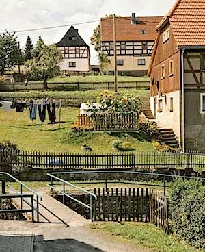 Eva Leitolf: Schöna, Sächsische Schweiz.