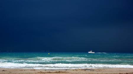 Leserfoto: Klick für Vollansicht - © Marc Hauser: Regatta kurz vor dem Abbruch